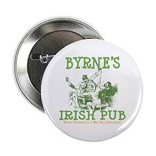 "Byrne's Irish Pub Personalized 2.25"" Button"