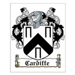 Cardiffe Coat of Arms Small Poster