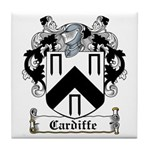 Cardiffe Coat of Arms Tile Coaster