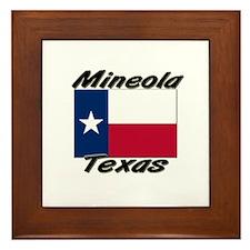 Mineola Texas Framed Tile