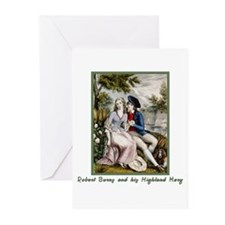 Robert Burns & Highland Mary Greeting Cards (Pk of