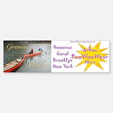 Gowanus Paddlers Bumper Bumper Bumper Sticker