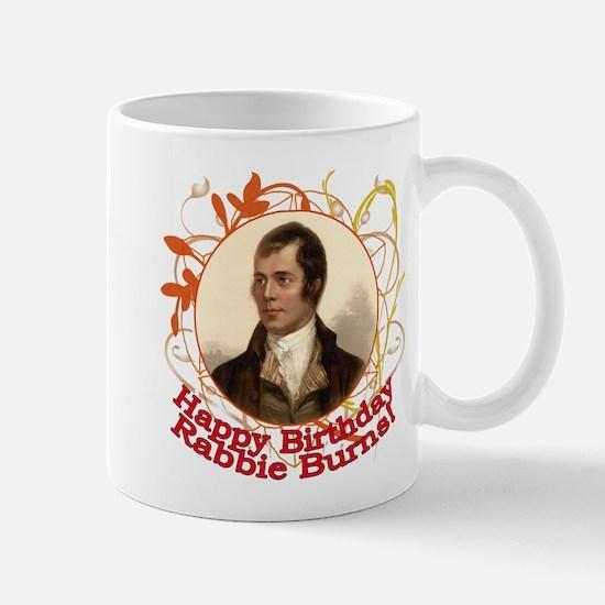 Happy Birthday Rabbie Burns Mug