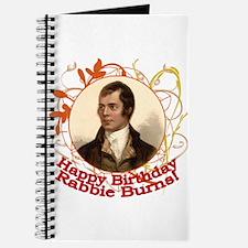 Happy Birthday Rabbie Burns Journal