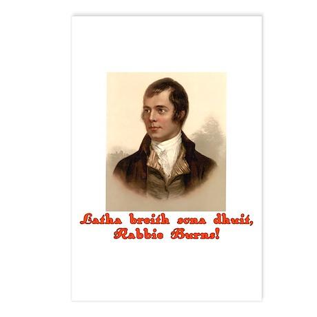 Happy Birthday in Scottish Gaelic Postcards (Packa