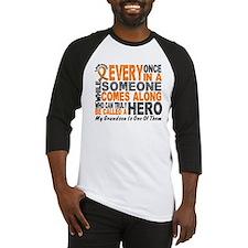 HERO Comes Along 1 Grandson LEUKEMIA Baseball Jers