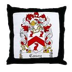 Casey Coat of Arms Throw Pillow