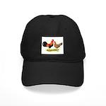 Leghorns Rooster & Hen Black Cap