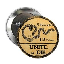 "Unite or Die! 2.25"" Button (10 pack)"