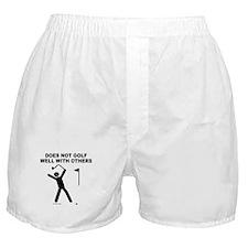 GOLF HUMOR Boxer Shorts