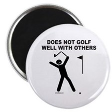 GOLF HUMOR Magnet