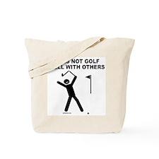 GOLF HUMOR Tote Bag