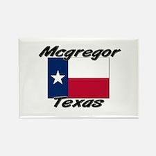 Mcgregor Texas Rectangle Magnet