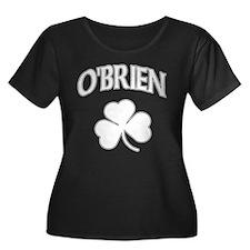 O'Brien Irish Women's Plus Size Scoop Neck Dark T-