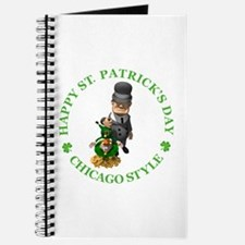 HAPPY ST PATRICK'S DAY - CHICAGO STYLE Journal