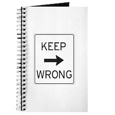 """Keep Wrong"" Journal"