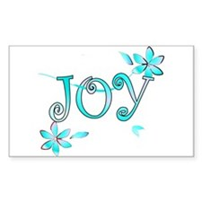 Joy Rectangle Decal