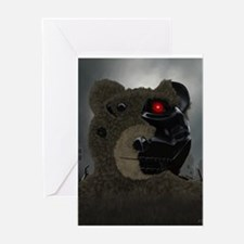 Bearinator Greeting Card