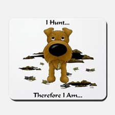 Irish Terrier - I Hunt... Mousepad