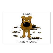 Irish Terrier - I Hunt... Postcards (Package of 8)