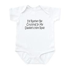 In My Daddy's Hot Rod Infant Bodysuit