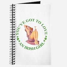 YOU'VE GOT TO LOVE AN IRISH GIRL Journal