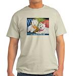 WESTIE LET A WESTIE RESCUE YOU! Light T-Shirt