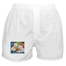 WESTIE LET A WESTIE RESCUE YOU! Boxer Shorts
