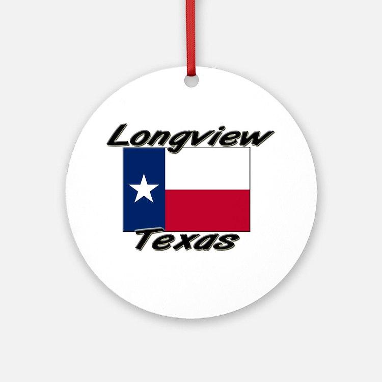 Longview Texas Ornament (Round)