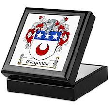 Chapman Coat of Arms Keepsake Box