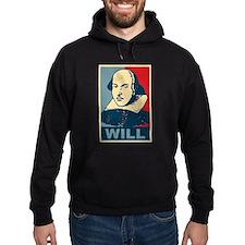 Pop Art William Shakespeare Hoodie