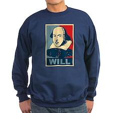 Pop Art William Shakespeare Sweatshirt