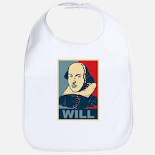Pop Art William Shakespeare Bib