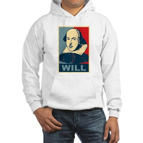 Pop Art William Shakespeare Hooded Sweatshirt