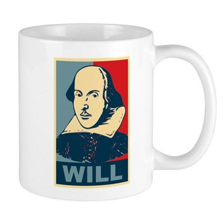 Pop Art William Shakespeare Mug