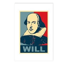 Pop Art William Shakespeare Postcards (Package of
