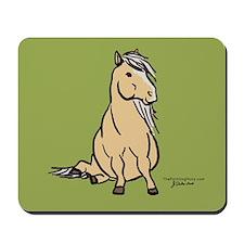 Palomino Pony Mousepad