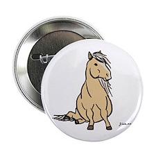 """Palomino Pony 2.25"""" Button"""