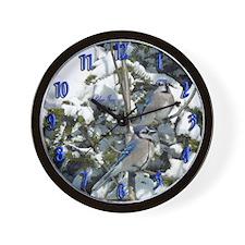 Blue Jays Wall Clock