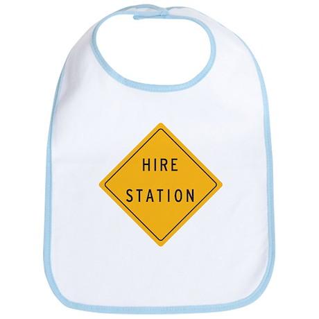 """""""Hire Station"""" Bib"""