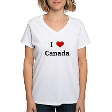 I Love Canada Shirt