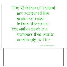 Children of Ireland Yard Sign