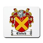 Clench Coat of Arms Mousepad