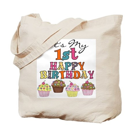 Cupcakes 1st Birthday Tote Bag