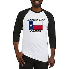 League City Texas Baseball Jersey
