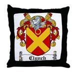 Clynch Coat of Arms Throw Pillow