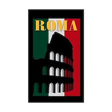 Roma Rectangle Bumper Stickers