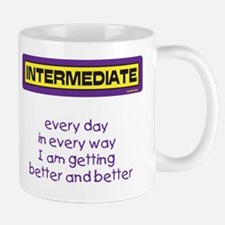 Better and Better Mug (Purple and Yellow)