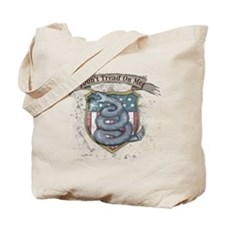 Don't Tread on Me! Gadsden fl Tote Bag