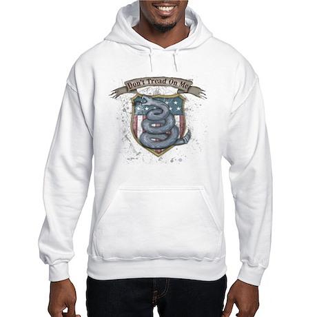 Don't Tread on Me! Gadsden fl Hooded Sweatshirt